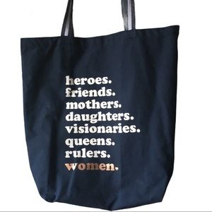 3 for $25 Women Empowerment canvas tote